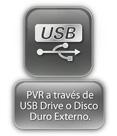 USB  o Disco duro externo
